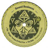 Singer Tempa & Paul Fox - Try / Shades Of Black - Try Dub (Sound Business) 12""